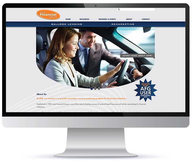 auto-financial-group-website