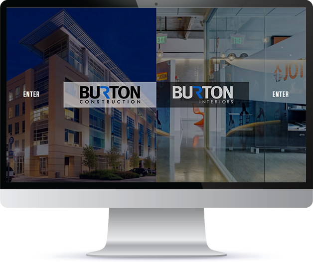 burton construction-website