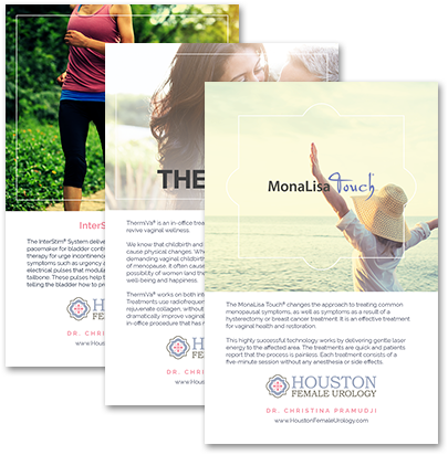 houston female urology-brochure-inserts